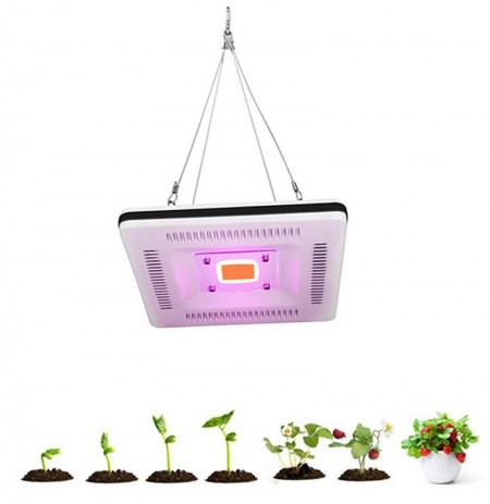 ARILUX® 50W Full Spectrum LED Plant Grow Hanging Flood Light Waterproof Thunder Protection 220-240V