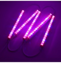 5 UNIDS 30 CM SMD5730 LED Grow Bar Rigid Strip Light Hydroponic Interior Veg Flower Planta Lámpara Kit
