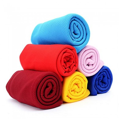 38x80cm Summer Iced Towels Outdoor Sport Magic Microfiber Cooling Towel