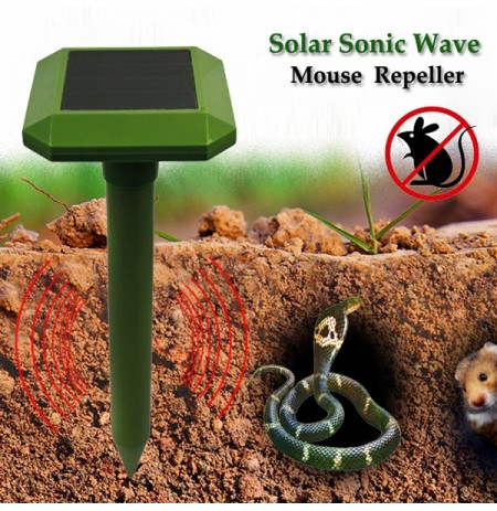 Greathouse Solar Power Sonic Wave Maus Snake Repeller im Freien Garten Tier Expeller