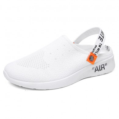 Men Mesh Hollow Outs Slip On Two Way Wear Sneakers