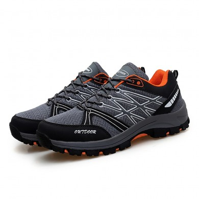 Men Outdoor Hiking Running Mesh Sneakers