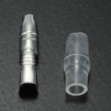 3.9mm Male Bullet Terminal Connector Insulator for Motorcycle Car