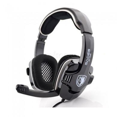 Sades SA-922 Stereo Gaming Headphone with Mic for PC PS3 XBOX