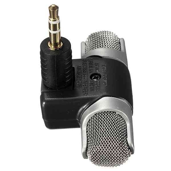 Mini Digital Stereo Microphone for Recorder Laptop PC Skype MSN