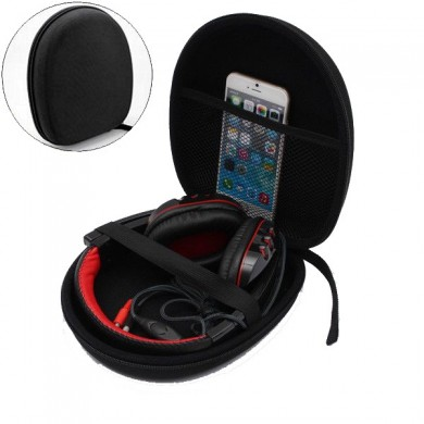 Practical and Durable Headphone Carry Case Storage Bag Pouch