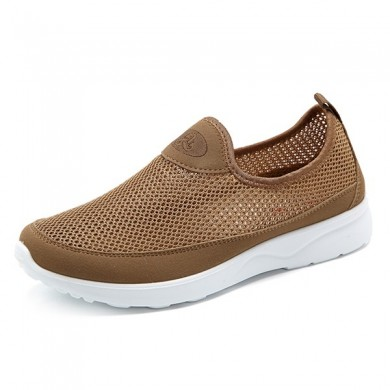 Hombre Respirable Hollow Out Soft Sole Flats