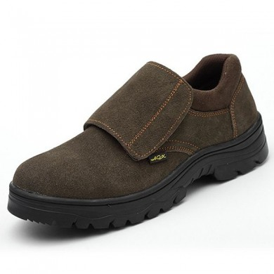 Comfy Men Wear Resisitant Outsole Gancho Loop Outdoor Working Shoes