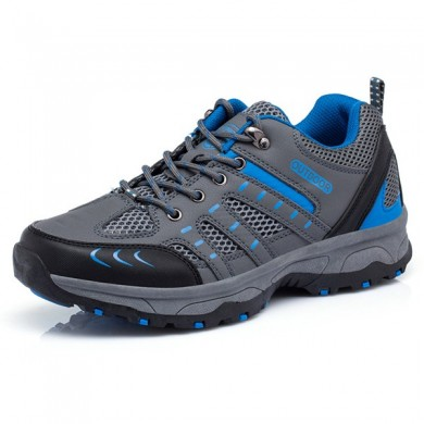 Homens Comfy Respirável Outdoor Hiking Athletic Shoes
