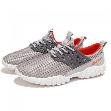 Homens respiráveis ​​Comfy Mesh Sports Athletic Shoes
