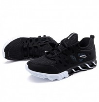 Homens Respirável Oco Outs Athletic Shoes Casual Sports Shoe