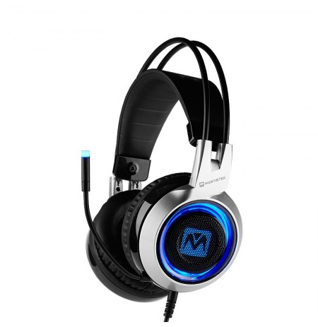 MantisTek GH2 Smart Vibration Stereo Noise Canceling Gaming Headphone with Microphone