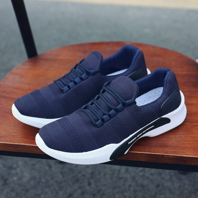 Hommes Tricoté Chaussures Sportives Respirantes Sport Sneakers Chaussures