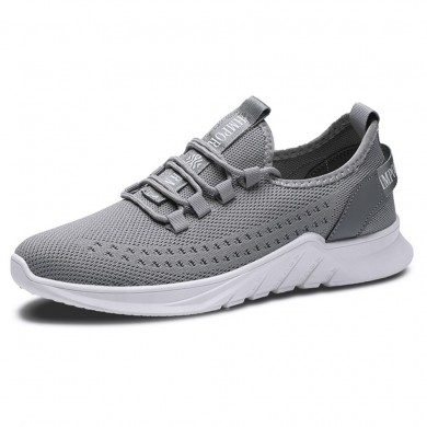 Hommes respirant Engrener Athletic Shoes Casual Chaussures de sport