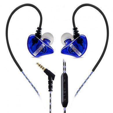 Subwoofer Bass Sports In-ear Earphone Wire Control Earphone