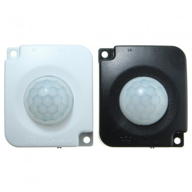 Detector Infrared PIR Motion Sensor Switch For Led Lights+2PCS Male Connector