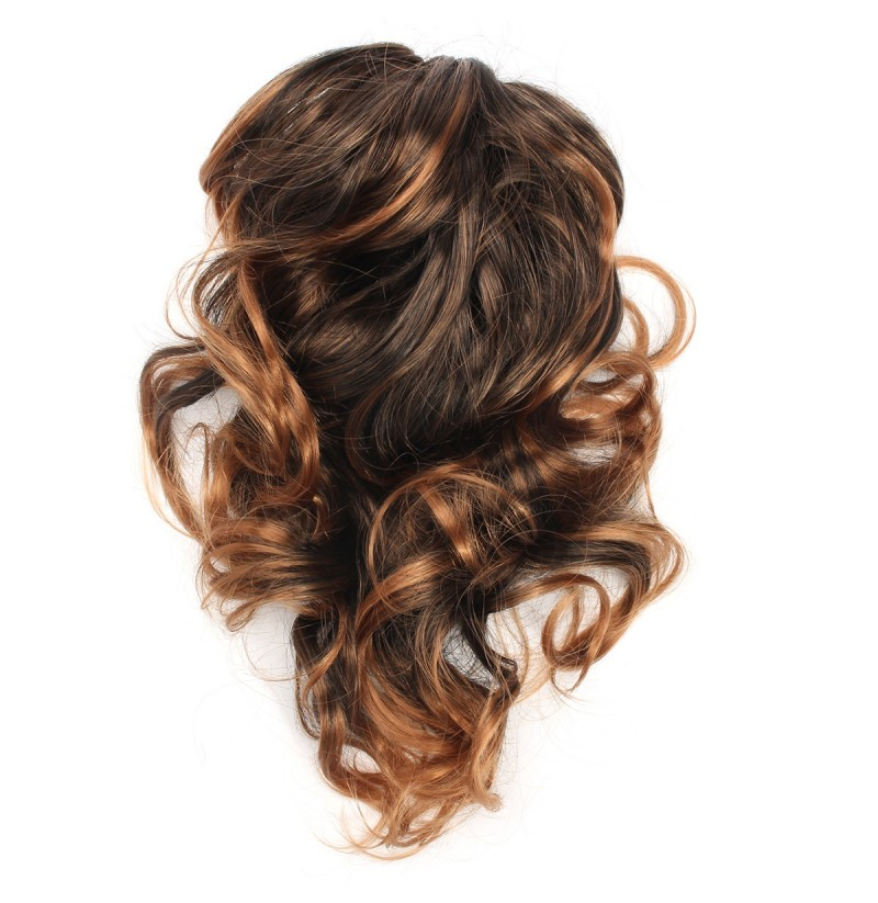 Claw Thick Wavy Curly Tail Long Layered Ponytail Clip Hair Extension (NO.: 3) фото