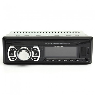 Bluetooth Car Stereo FM Transimittervs Radio AUX Input In Dash SD MMC USB MP3 Player Head Unit