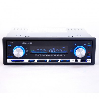 JSD-20158 Bluetooth Vehicle Car MP3 Player Stereo With FM Radio Multifunction