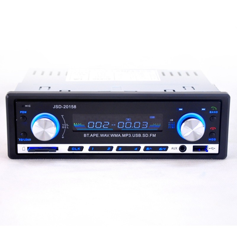 jsd 20158 bluetooth vehicle car mp3 player stereo with fm. Black Bedroom Furniture Sets. Home Design Ideas