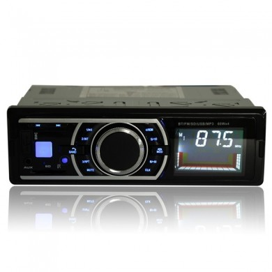 Car Stereo Audio Radio FM Aux Input Receiver In Dash SD MMC USB WMA MP3 Player