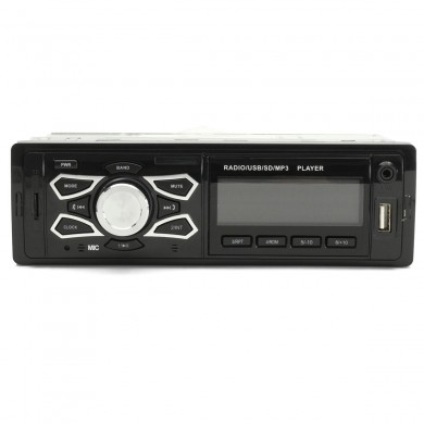 Car Stereo Audio 1 DIN In Dash FM Aux Input Receiver SD USB MP3 Radio With Bluetooth Function