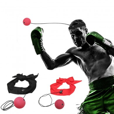 Boxeo Speed ​​Ball Head-mounted Magia Ball Training Reflex Speedball Fight Ball