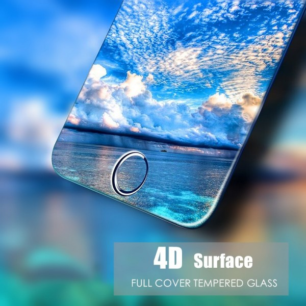Bakeey 4D Curved Edge Tempered Glass Screen Protector For iPhone 8