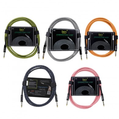 IRIN 3 Meter Durable Guitar Cable for Electric Guitar Amplifier 6.35mm Cable Cord