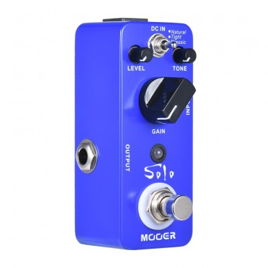 MOOER MDS5 Solo Distortion-Gitarreneffektpedal mit 3 Arbeitsmodi Natural / Tight / Classic