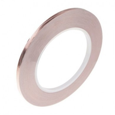 1 Roll Single Conductive Copper Foil Tape 5MM X 30M
