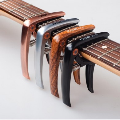 Guitto GGC-03 liga de metal guitarra Capo