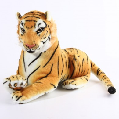 Cute Toys Dolls Stuffed Soft Simulation Plush Animal Tiger Gift For Children