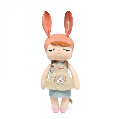 Metoo Angela Plush Lace 33CM Rabbit Dolls Stuffed Toy For Children Girl kids Gift