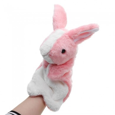 Hand Puppet Stuffed Animal 30cm Toy Classic Children Figure Puppet Toys Plush