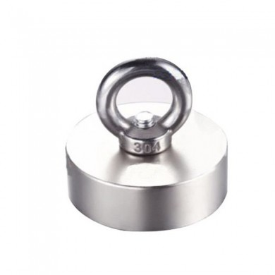 N52 50*50*20mm Neodymium Recovery Magnet Metal Detector Ring Magnet