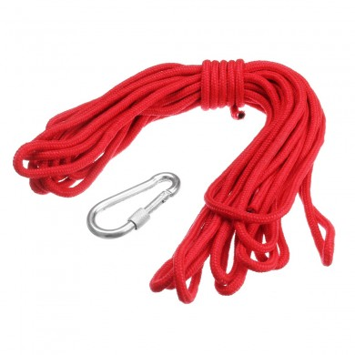 20M Rope with Hook for Neodymium Recovery Salvage Magnet Hanging