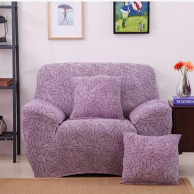 One Seater Textile Spandex Strench Flexible Printed Elastic  Sofa Couch Abdeckung Möbel  Schutz