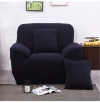 Three Seater Solid Colors Textile Spandex Strench Elastic Sofa Couch Cover Furniture Protector