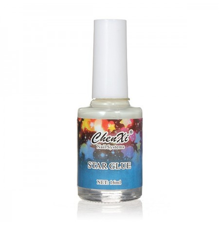 Nail Art False Manicure Tips Galaxy Star Stickers Glue 16ML