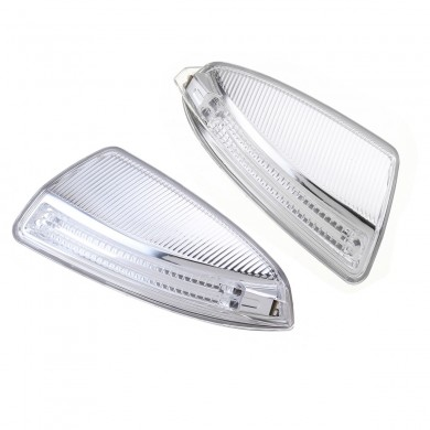 Side Mirror Turn Signal Lights Lamps Pair for Mercedes-Benz ML Class C-Class W204