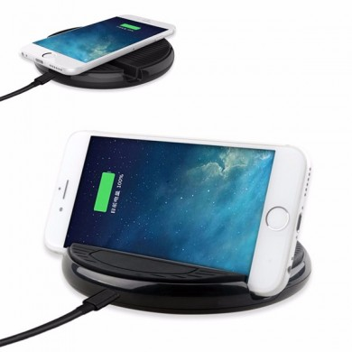 Qi Wireless Charger Fast Charge Holder Charger for Samsung Xiaomi Huawei