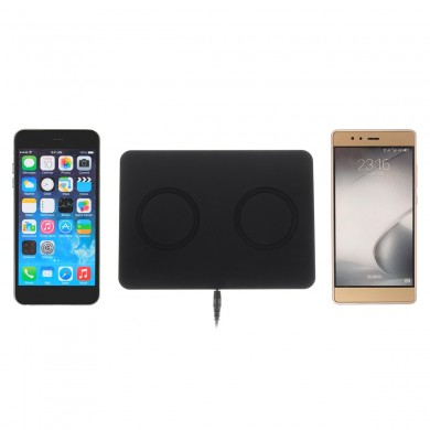Qi Wireless 5W Charger Pad US Plug for Samsung S8 Note 8 iPhone 8 Plus X