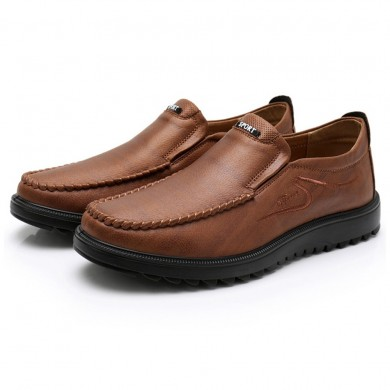Homens Soft Leather Business Oxfords