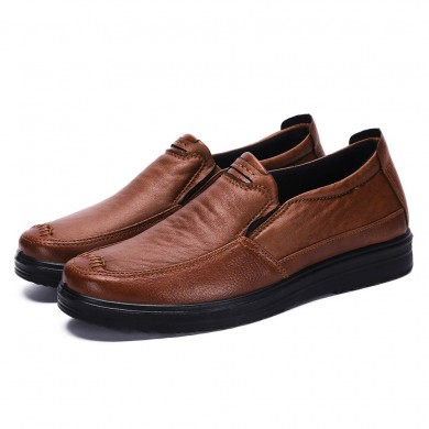 Microfibra Soft sola Oxfords casuais