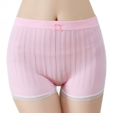 Cotton Mid Waist Stretchy Anti Pantaloncini sexy svuotati