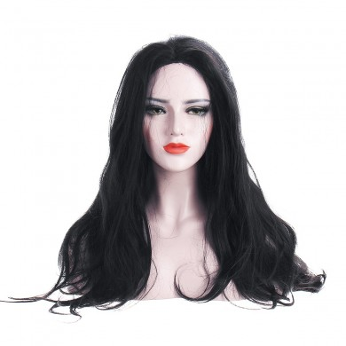 "24"" Women Glueless Lace Front Full Wig"