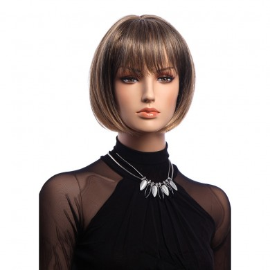 12 Inch Short Straight KANEKALON Full Wig Elegant Bobo