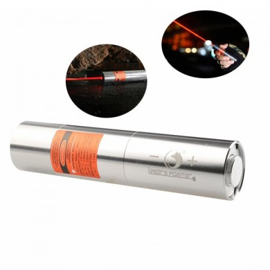 U King ZQ-J12 638nm Red Light Powerful Buring Laser Flashlight With US Charger