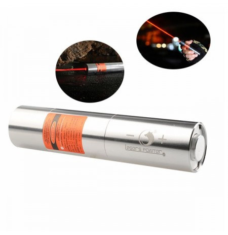 U King ZQ-J12 638nm Red Light Powerful Buring Laser Lanterna com carregador da UE
